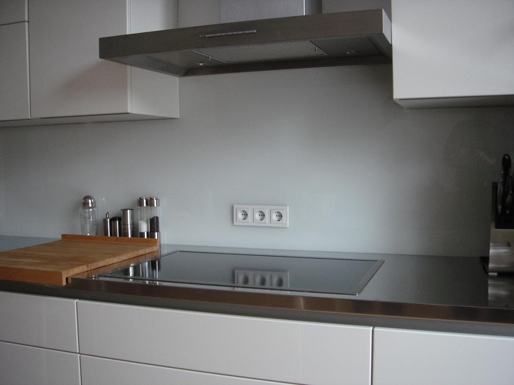 Lackiertes glas küchenrückwand  Küchenrückwände – Glas Birk Junior