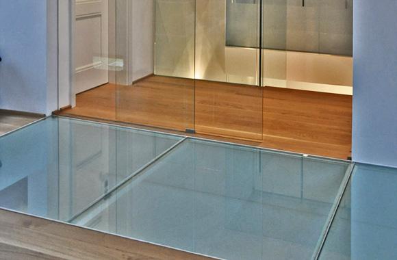 Glasböden Köln begehbarer Glasboden