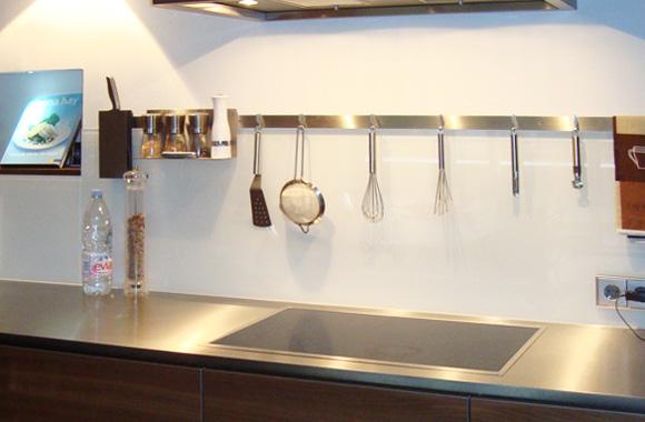 Küchenrückwände – Glas Birk Junior